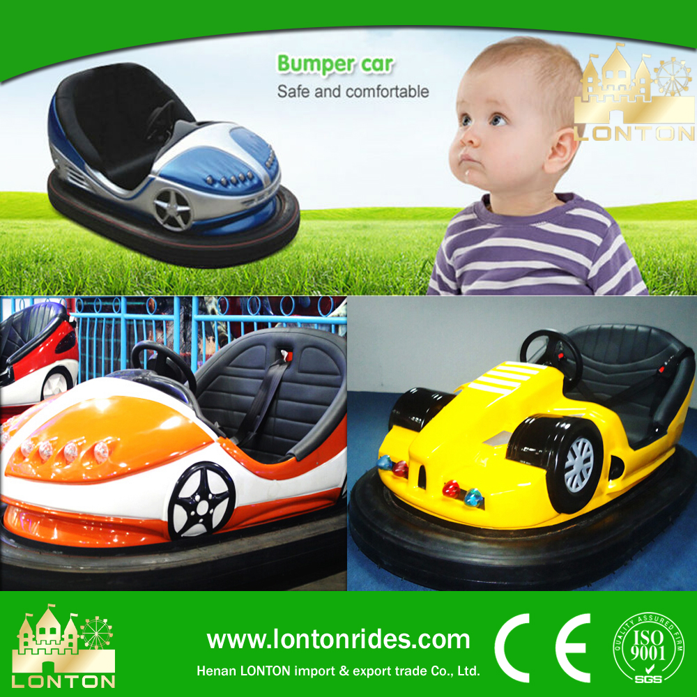2016 Go Kart ! Indoor Family Racing Games 2 Players Battery Racing Bumper Car for Small Business