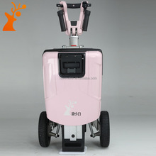 new arrival made in china pink three wheel foldable electric scooter