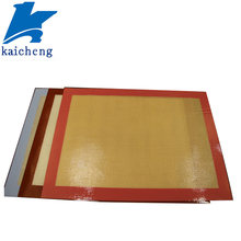 Custom fiberglass food grade silicone baking sheet
