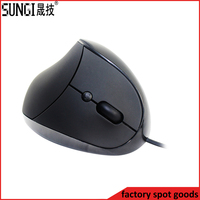 Healthy 6D usb wired optical mouse ergonomic vertical mouse