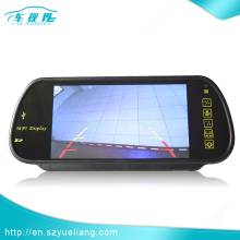 Small 7 inch battery powered 800*480 pixels HDMI Rearview Mirror Monitor with MP5