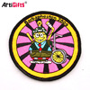 Customized design cartoon embroidered children patch