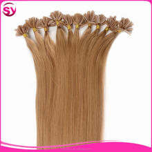 Different color fashion style pre-bonded hair 8A Grade straight Brazilian virgin hair U tip hair in extension