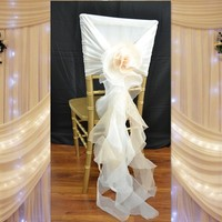 wedding chair covers and sashes