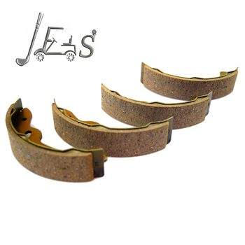 Golf cart parts Brake shoes (Set of 4) For Club Car DS & Precedent Golf Carts