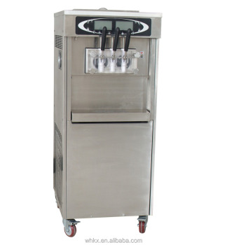 frozen yoghurt ice cream machine with stainless steel stirrer