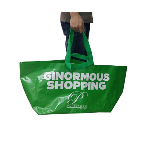 55x35x37cm Reusable Tote Bags With Custom Printed Logo
