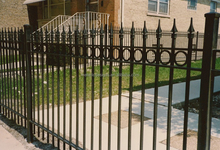 Factory Supply wrought iron gates and fences,wrought iron garden fence,wrought iron fence parts
