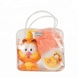Promotional body shower gel cleaning care gift Kid Bath Set