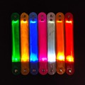 Outdoor running reflective led slap bracelet led wristband