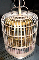 unique bamboo birdcage sets,including large, medium and small sizes