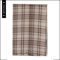Attractive price new type men plaid scarf