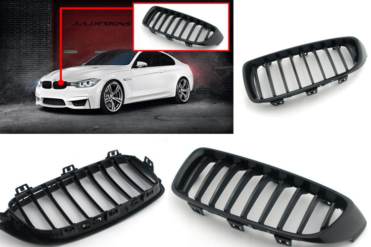 Made in China Spare Parts Accessories Factory Car Chrome Auto Front Grille Body Kit For BMW X6