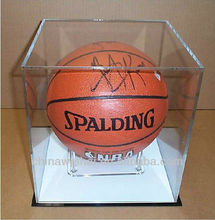 Yiwu Clear ACRYLIC BASKETBALL Display CASE