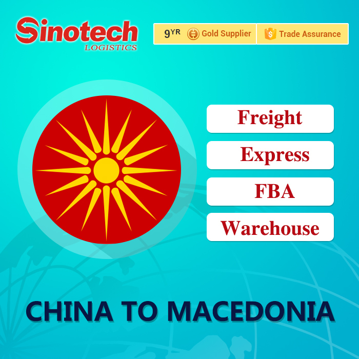 China alibaba express/air/sea shipping to Macedonia,shipping from China