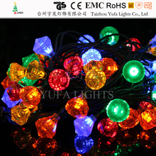 outdoor christmas street light decoration, christmas light chain