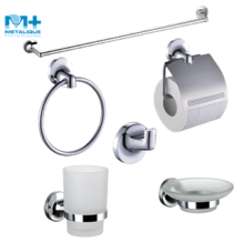 Zinc Alloy Chrome Wall Mounted Bathroom Accessory