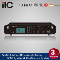 ITC T-6760 Series IP PA System 60 Watt to 350 Watt IP Audio PA Amplifier