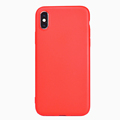 DFIFAN best sellers mobile back cover for iphone x Red matte phone case for iphone x