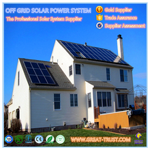 Energy Saving 5KW industrial solar panel system solar electricity generating system solar system planets pictures