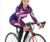 100% polyester women long sleeve/ short sleeve cycling jersey sets