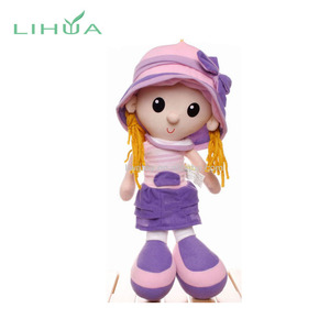 Customizable Lovely American Girl Baby Doll Toy for Girls