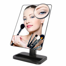 2017 Professional Led Light Mirror Hollywood Style Makeup Vanity Mirror Magnifying