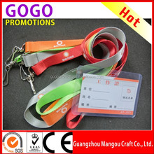 Promotional Lanyard Safety Breakaway Buckles From Manufacture Factory, ID Card Printing Lanyard for Small Business