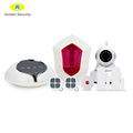 WIFI GSM Home Alarm System Work With WIFI IP Camera Golden Security 3G WIFI Wireless Home Alarm System