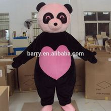 Outdoor Advertising Inflatable Adult Panda Mascot Costume