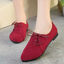 W72110G new arrivals 2016 wholesale loafer design lady fashion shoe suede flat sneakers for women