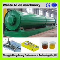 continuous waste plastic pyrolysis machine with ISO9001 automatic welding
