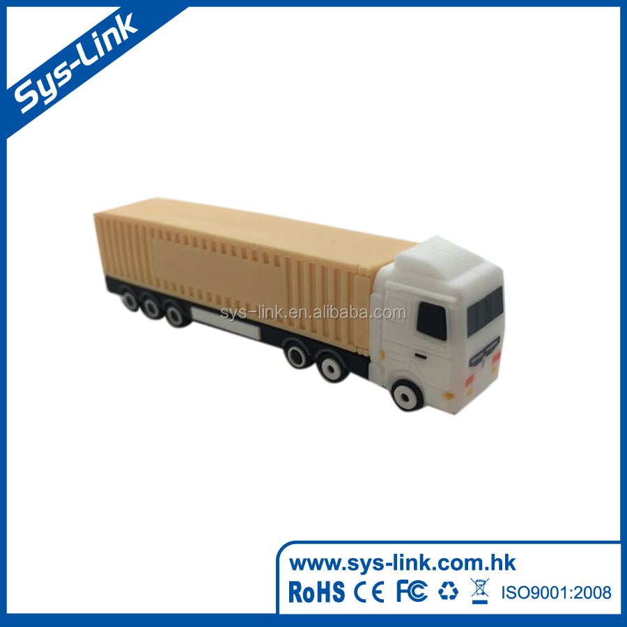 High quality 3D truck shape usb falsh drive