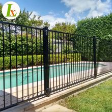 Black Aluminum Fence,Child Safety Pool Fence,Cheap Pool Fence
