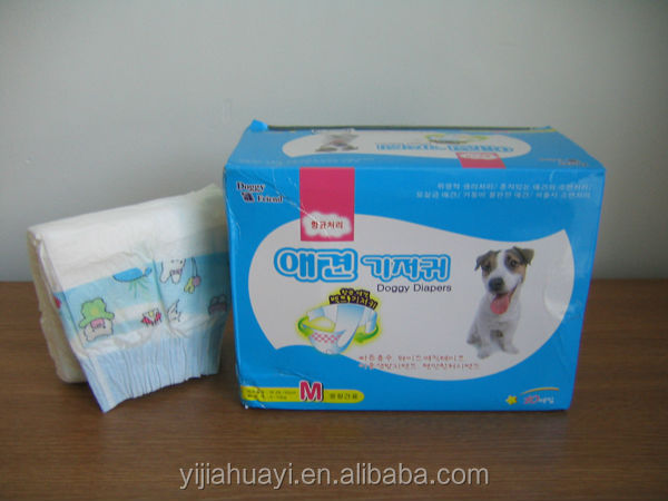 Made in china/unscent/scented/disposable Cute Dog Diaper price/dog diaper