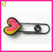 Low cost lovely advertising good giveaway christmas gifts soft pvc 3d marks bookmarks for souvenir