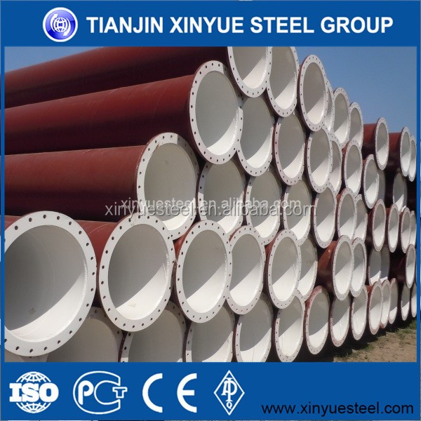 high quality 3PE water steel pipe