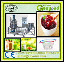 small volume emulsion machine for shoe polish/paint/glue/asphalt, vacuum mixing machine