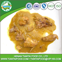 Halal curry food canning chicken for export