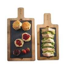 Factory Supplies Fruit Restaurant Slate Acacia Cheese Kitchen Wood Bamboo <strong>Plate</strong>