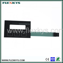 Function keypad membrane for astronomical relay timer
