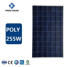 china factory price solar power cells 255w poly solar panel for solar panel system