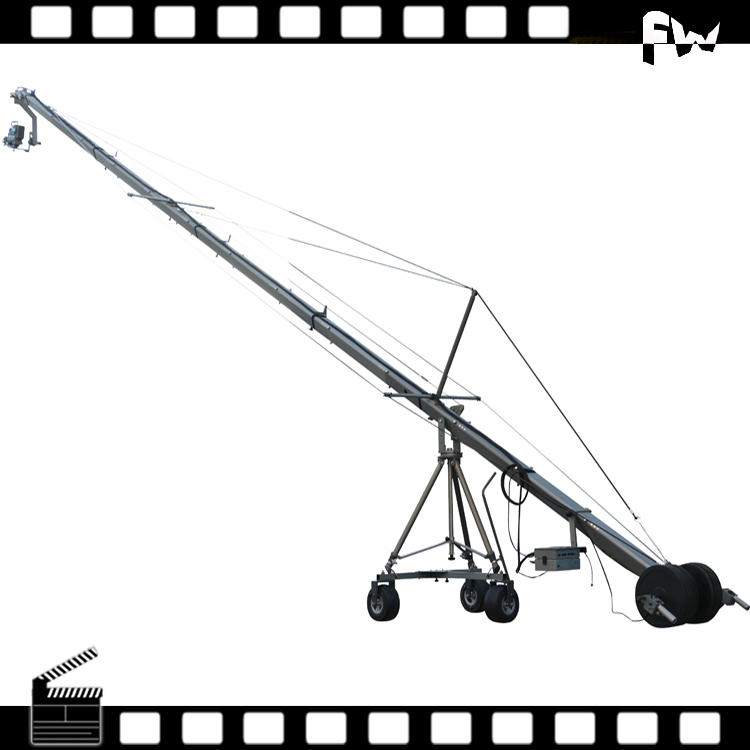 Professional 3 axis heavy duty high quality jimmy jib camera crane for sale