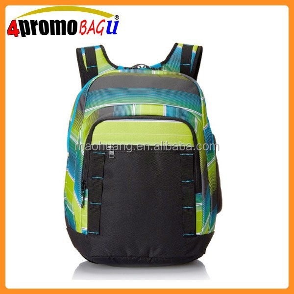China new pattern school bag polyester material