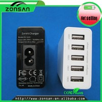 Usb travel charge 5 ports usb for ipad super fast power charger for tablet usb multi charger