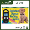 Visson VS-032 remote vibrating dog pet training collar with lcd display