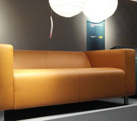 SOLID COLOR PU LEATHER SOFA COVER HLSF1660