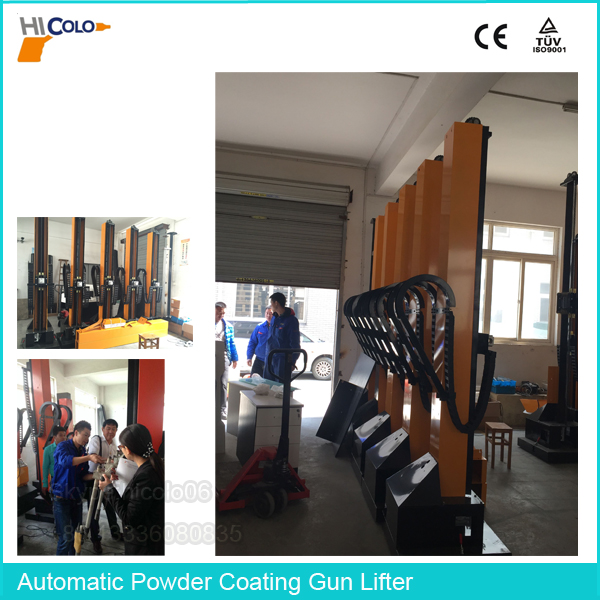 Auto Powder Coating Plant Equipment Robotic Painting