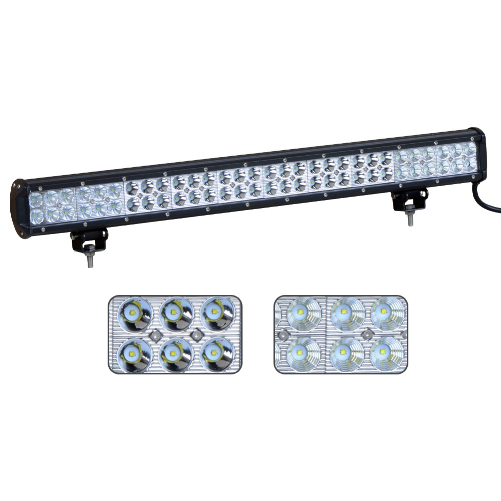Auto Parts Advanced LED 180W High Lumens LED Offroad Light Bar, Real 12600LM light Bar""