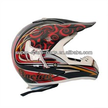 High quality dirt bike full face custom motorcycle helmets